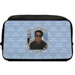 Photo Birthday Toiletry Bag / Dopp Kit (Personalized)