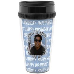 Photo Birthday Travel Mugs (Personalized)