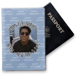 Photo Birthday Vinyl Passport Holder (Personalized)
