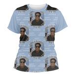 Photo Birthday Women's Crew T-Shirt (Personalized)