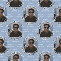 Photo Birthday Wrapping Paper (Personalized)
