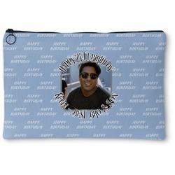 Photo Birthday Zipper Pouch (Personalized)