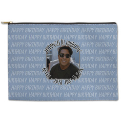 Photo Birthday Zipper Pouch (Personalized)