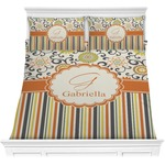 Swirls, Floral & Stripes Comforters (Personalized)