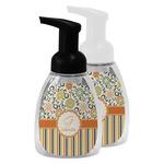 Swirls, Floral & Stripes Foam Soap Bottle (Personalized)