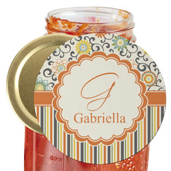 Swirls, Floral & Stripes Jar Opener (Personalized)