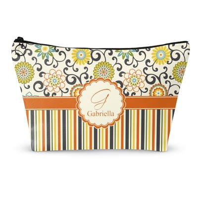 Swirls, Floral & Stripes Makeup Bags (Personalized)