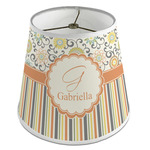 Swirls, Floral & Stripes Empire Lamp Shade (Personalized)