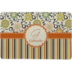 Swirls, Floral & Stripes Comfort Mat (Personalized)