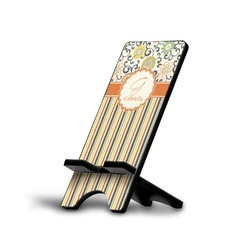 Swirls, Floral & Stripes Cell Phone Stands (Personalized)