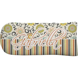 Swirls, Floral & Stripes Putter Cover (Personalized)