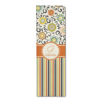 Swirls, Floral & Stripes Runner Rug - 3.66'x8' (Personalized)