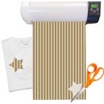 "Swirls, Floral & Stripes Heat Transfer Vinyl Sheet (12""x18"")"