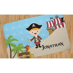 Pirate Scene Area Rug (Personalized)