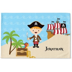Pirate Scene Woven Mat (Personalized)