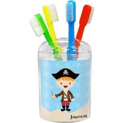 Pirate Scene Toothbrush Holder (Personalized)