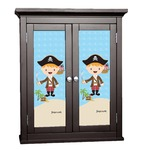 Pirate Scene Cabinet Decal - Custom Size (Personalized)