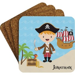 Pirate Scene Coaster Set (Personalized)