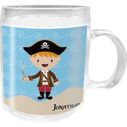 Pirate Scene Acrylic Kids Mug (Personalized)