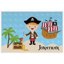 Pirate Scene Placemat (Laminated) (Personalized)