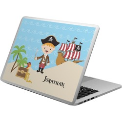 Pirate Scene Laptop Decal (Personalized)