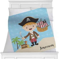 Pirate Scene Blanket (Personalized)
