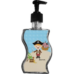 Pirate Scene Wave Bottle Soap / Lotion Dispenser (Personalized)