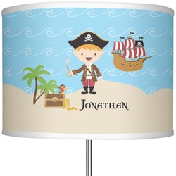 "Pirate Scene 13"" Drum Lamp Shade (Personalized)"