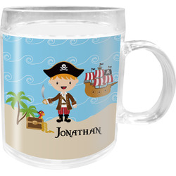 Pirate Scene Acrylic Kids Mug (Personalized)