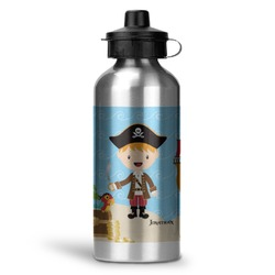 Pirate Scene Water Bottle (Personalized)