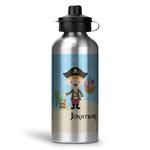 Pirate Scene Water Bottle - Aluminum - 20 oz (Personalized)
