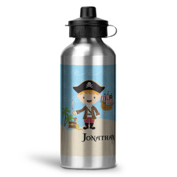 Pirate Scene Water Bottle - Aluminum - 20 oz (Personalized)