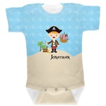 Pirate Scene Baby Bodysuit (Personalized)