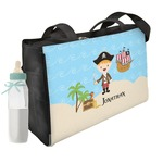 Pirate Scene Diaper Bag (Personalized)