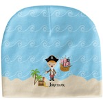Pirate Scene Baby Hat (Beanie) (Personalized)