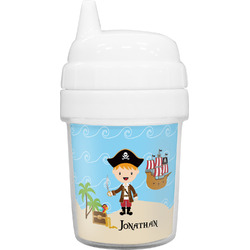 Pirate Scene Baby Sippy Cup (Personalized)
