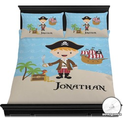 Pirate Scene Duvet Cover Set (Personalized)