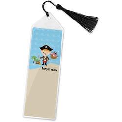 Pirate Scene Book Mark w/Tassel (Personalized)