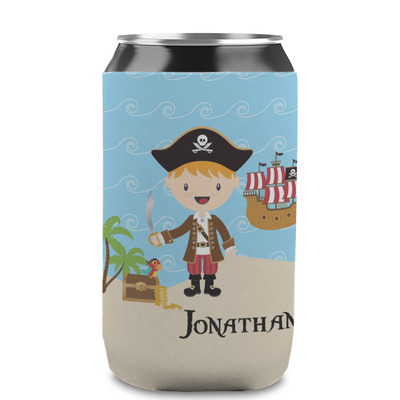 Pirate Scene Can Sleeve (12 oz) (Personalized)