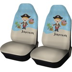 Pirate Scene Car Seat Covers (Set of Two) (Personalized)