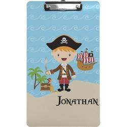 Pirate Scene Clipboard (Legal Size) (Personalized)