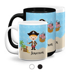Pirate Scene Coffee Mugs (Personalized)
