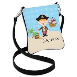 Pirate Scene Cross Body Bag - 2 Sizes (Personalized)