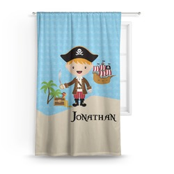 Pirate Scene Curtain (Personalized)