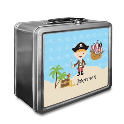 Pirate Scene Lunch Box (Personalized)
