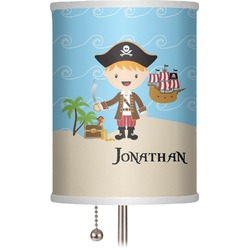 "Pirate Scene 7"" Drum Lamp Shade (Personalized)"