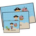 Pirate Scene Door Mat (Personalized)