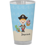 Pirate Scene Drinking / Pint Glass (Personalized)