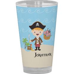 Pirate Scene Drinking / Pint Glass (Personalized)