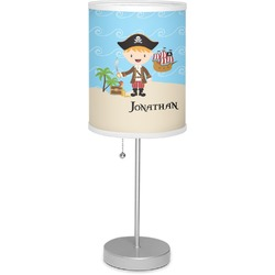 "Pirate Scene 7"" Drum Lamp with Shade (Personalized)"